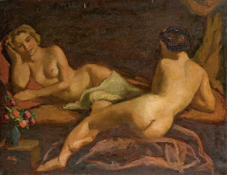 Deux nus (et deux autres oeuvres)