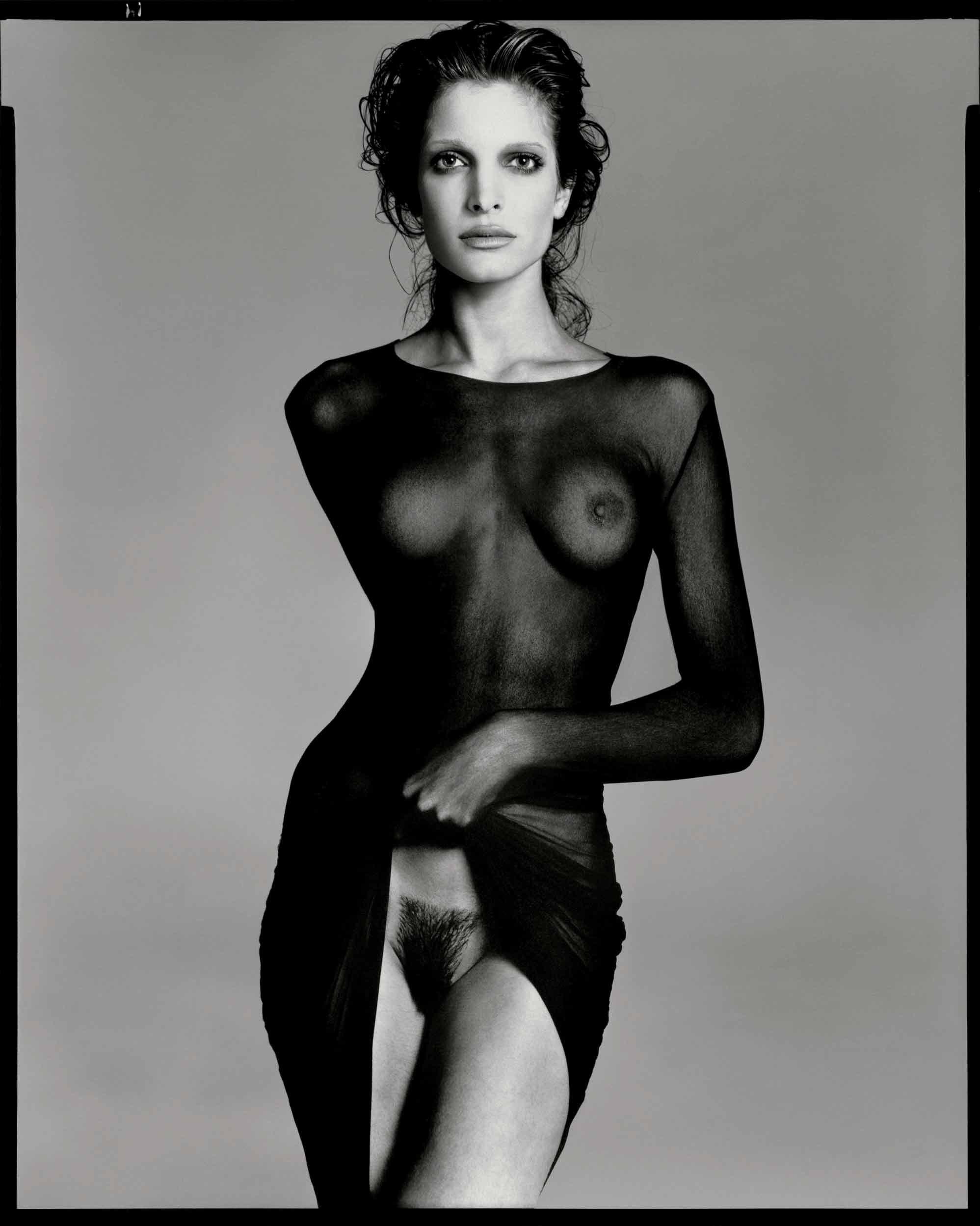 Stephanie Seymour, model, New York City, May 9, 1992