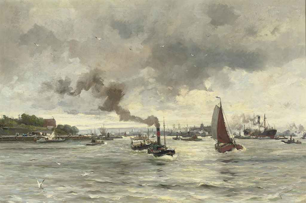 Maas voor 't Park: boating on the river Maas, Rotterdam