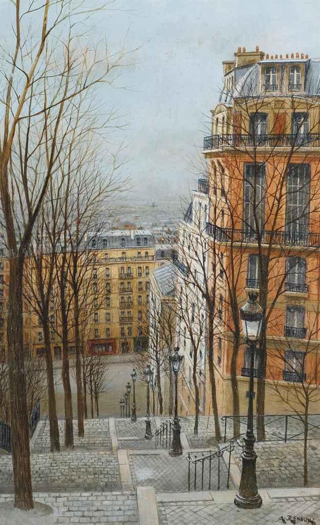 Rue Foyatier à Paris