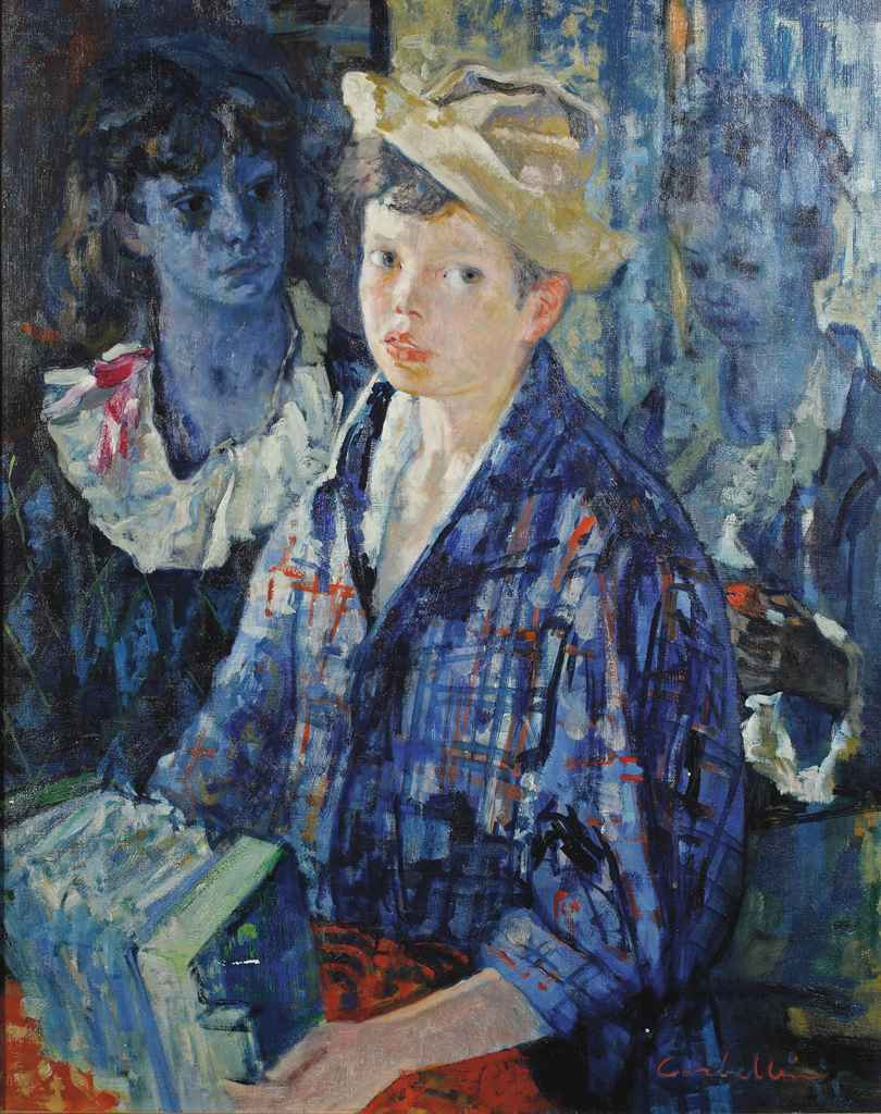Boy with accordeon