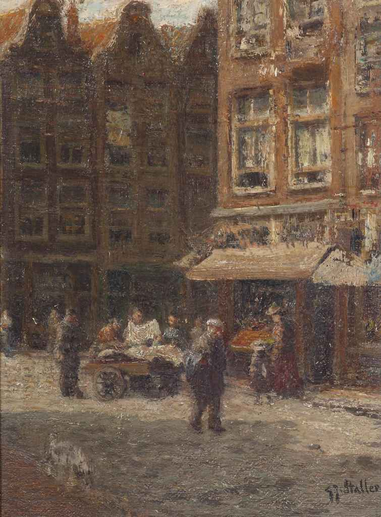 An Amsterdam street scene