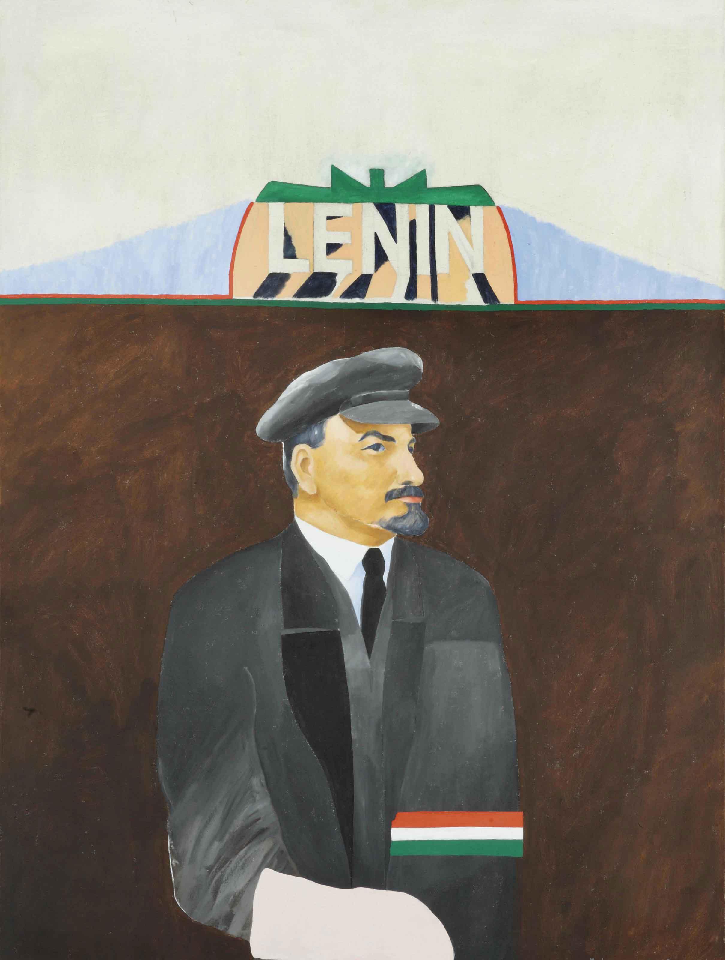 Portret Lenin