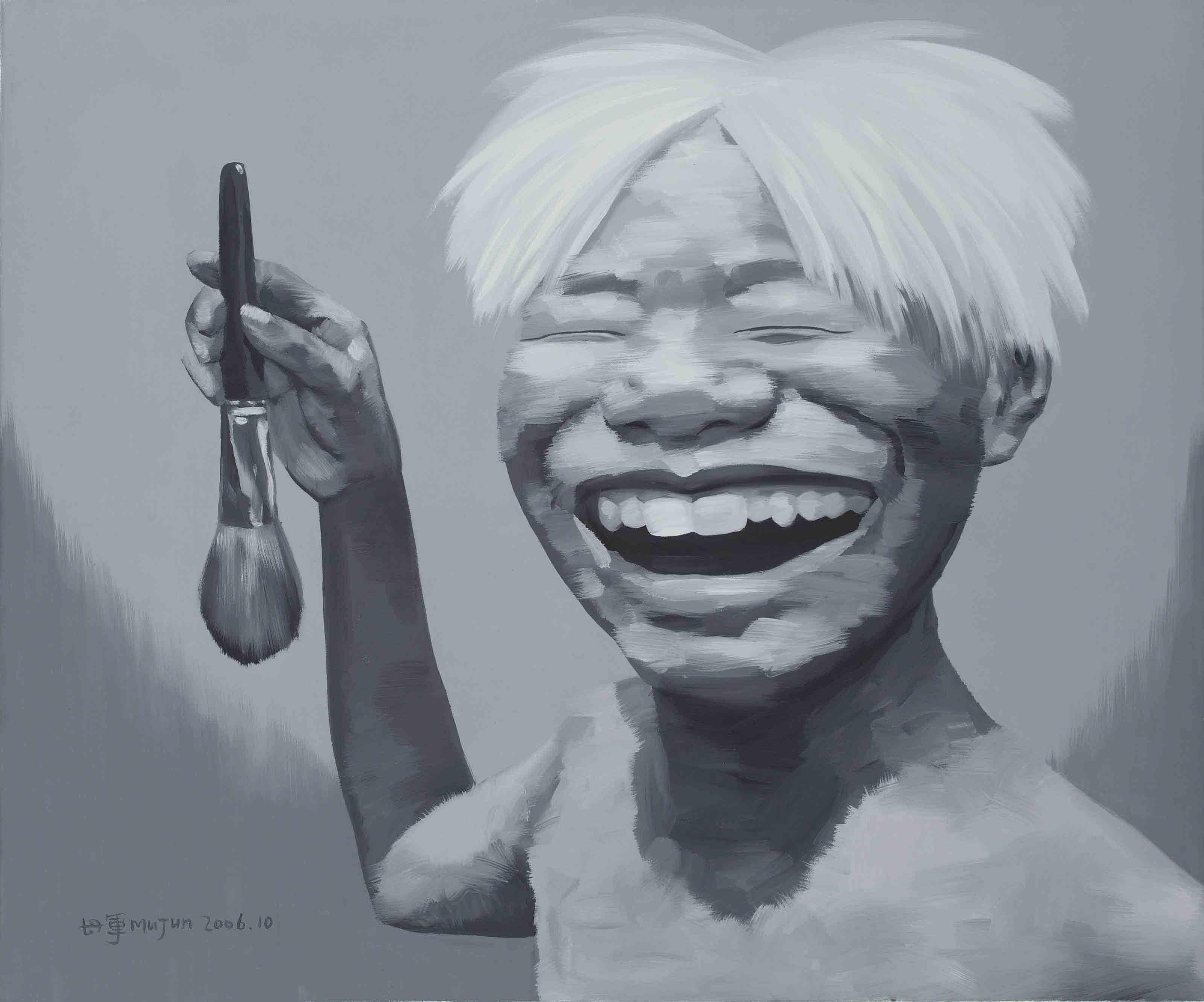 Self-portrait as Andy Warhol