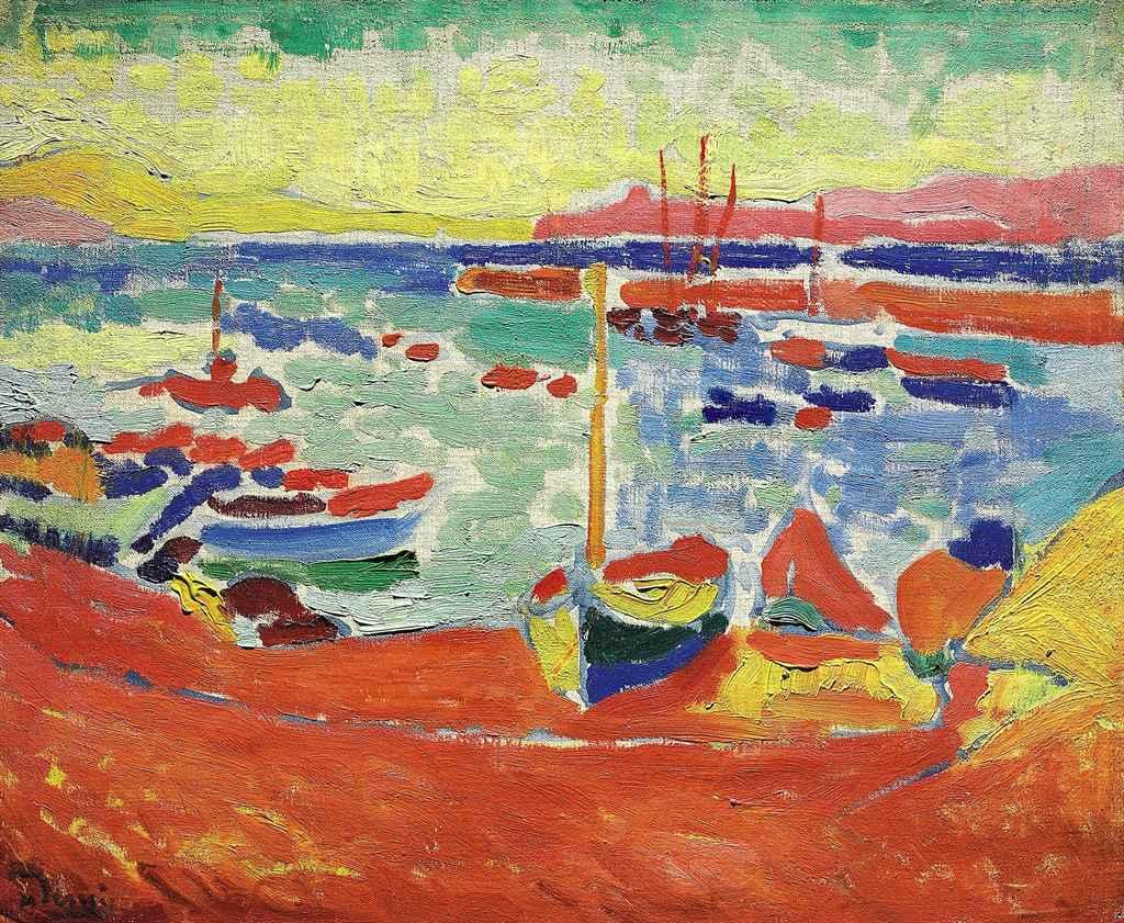 Bateaux à Collioure