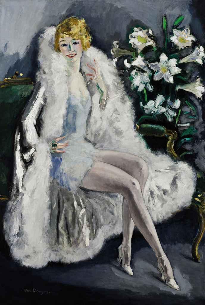 L'actrice Lili Damita