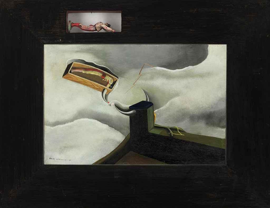 Muerte del Torero (recto); Femme à la bicyclette (verso)
