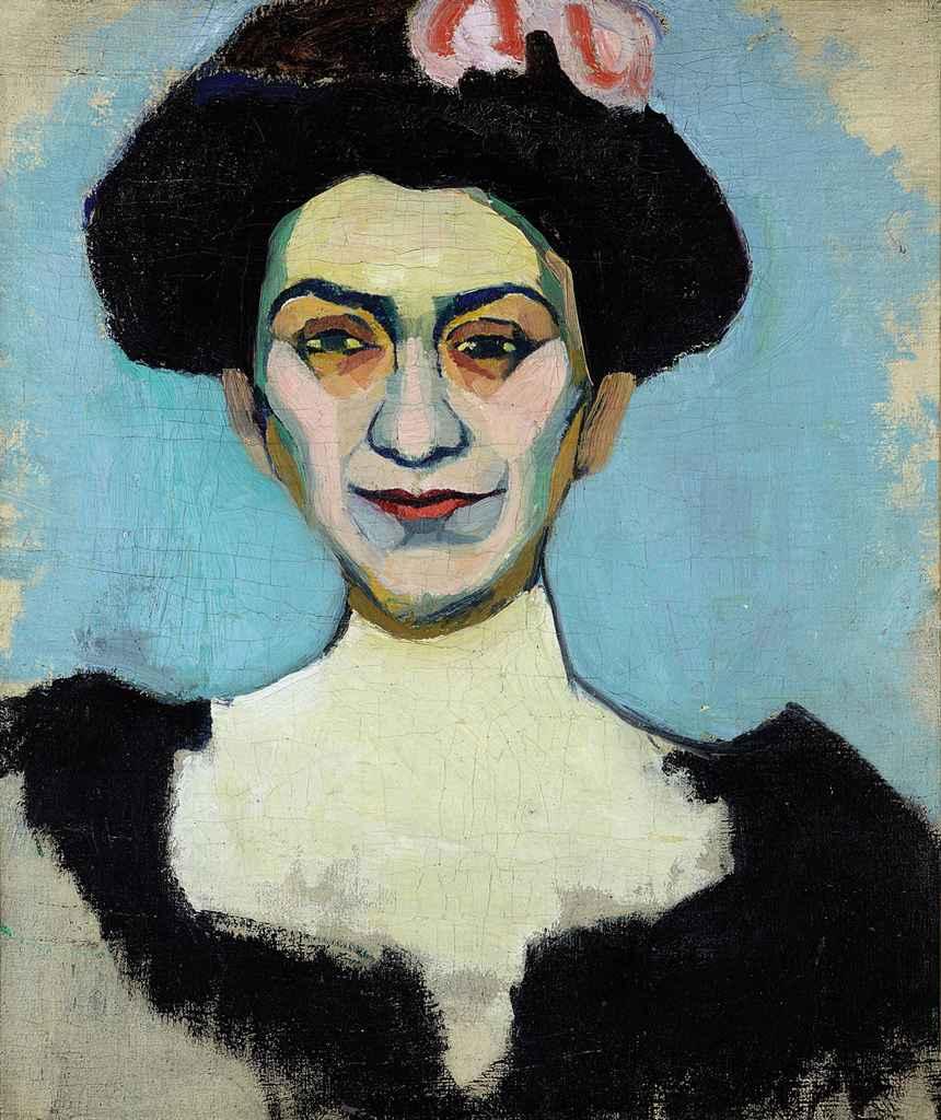 Portrait de Madame Minsky