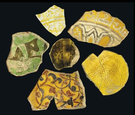 A GROUP OF FIVE RARE FATIMID A