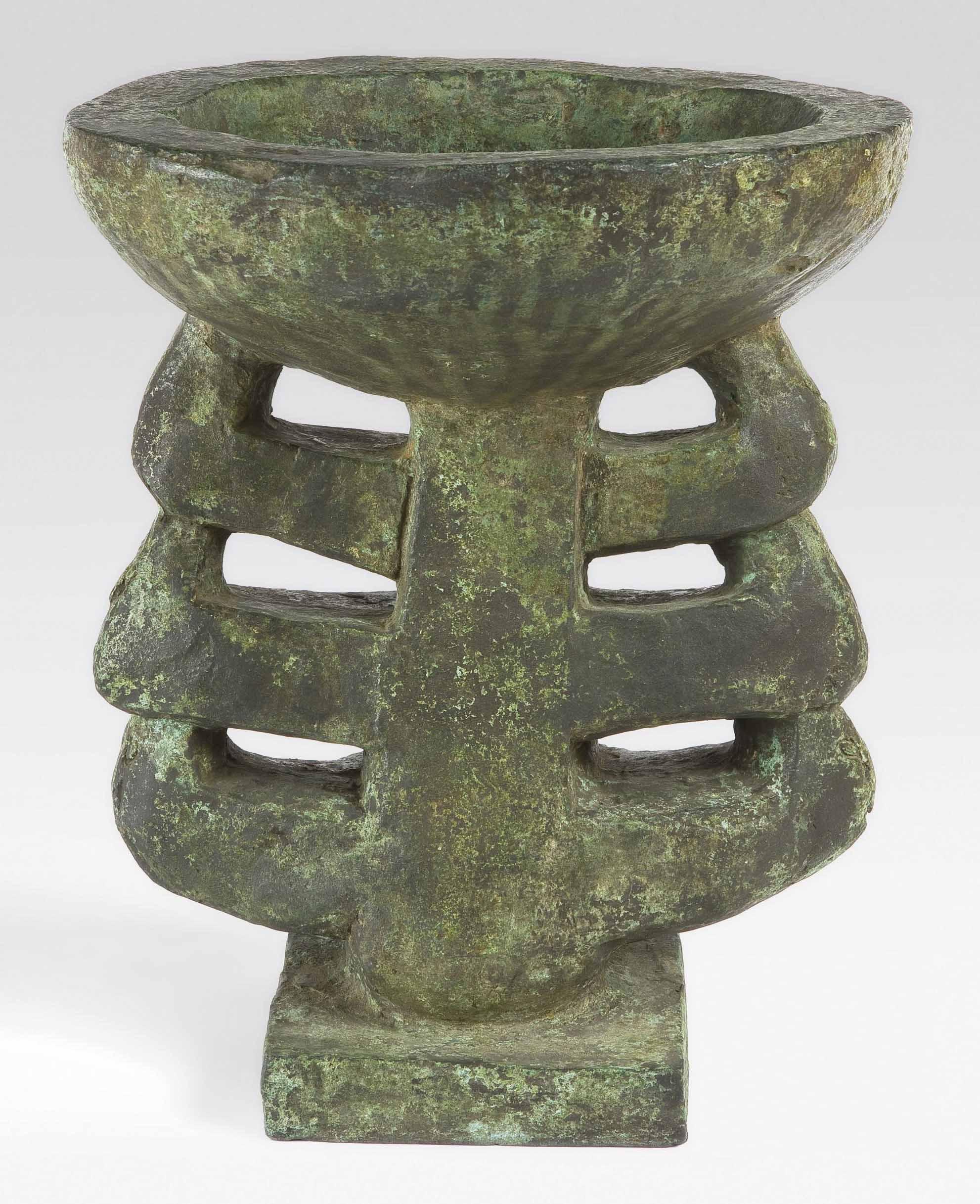 Maquette for Flower Vase 2 (Garden Ornament 3)