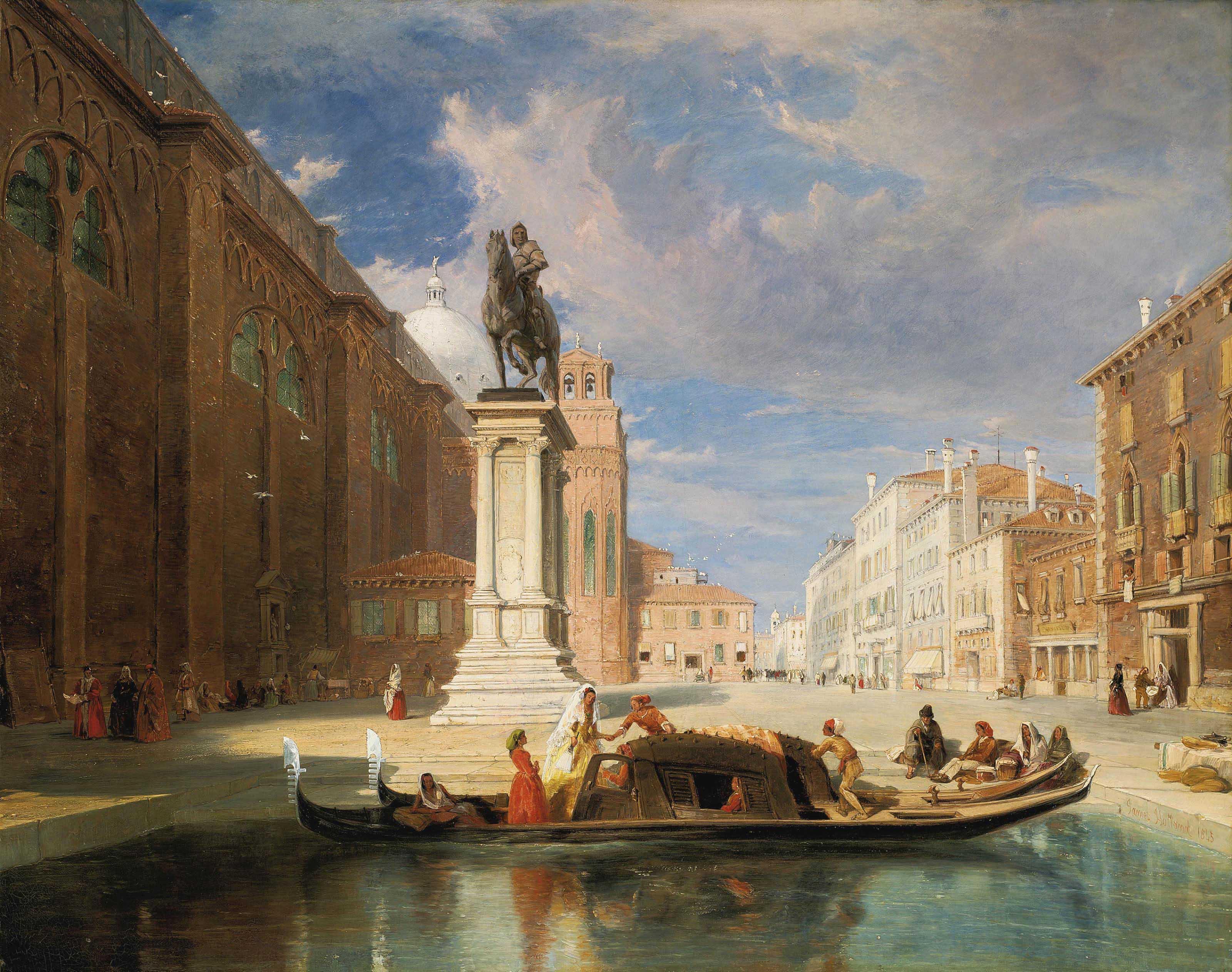 The Colleoni Monument, Venice