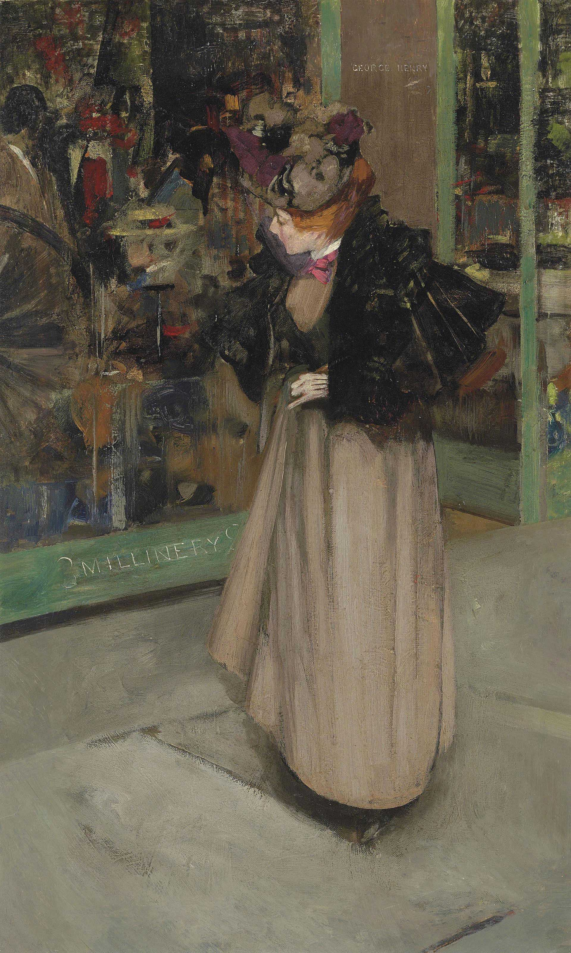 The Milliner's Window