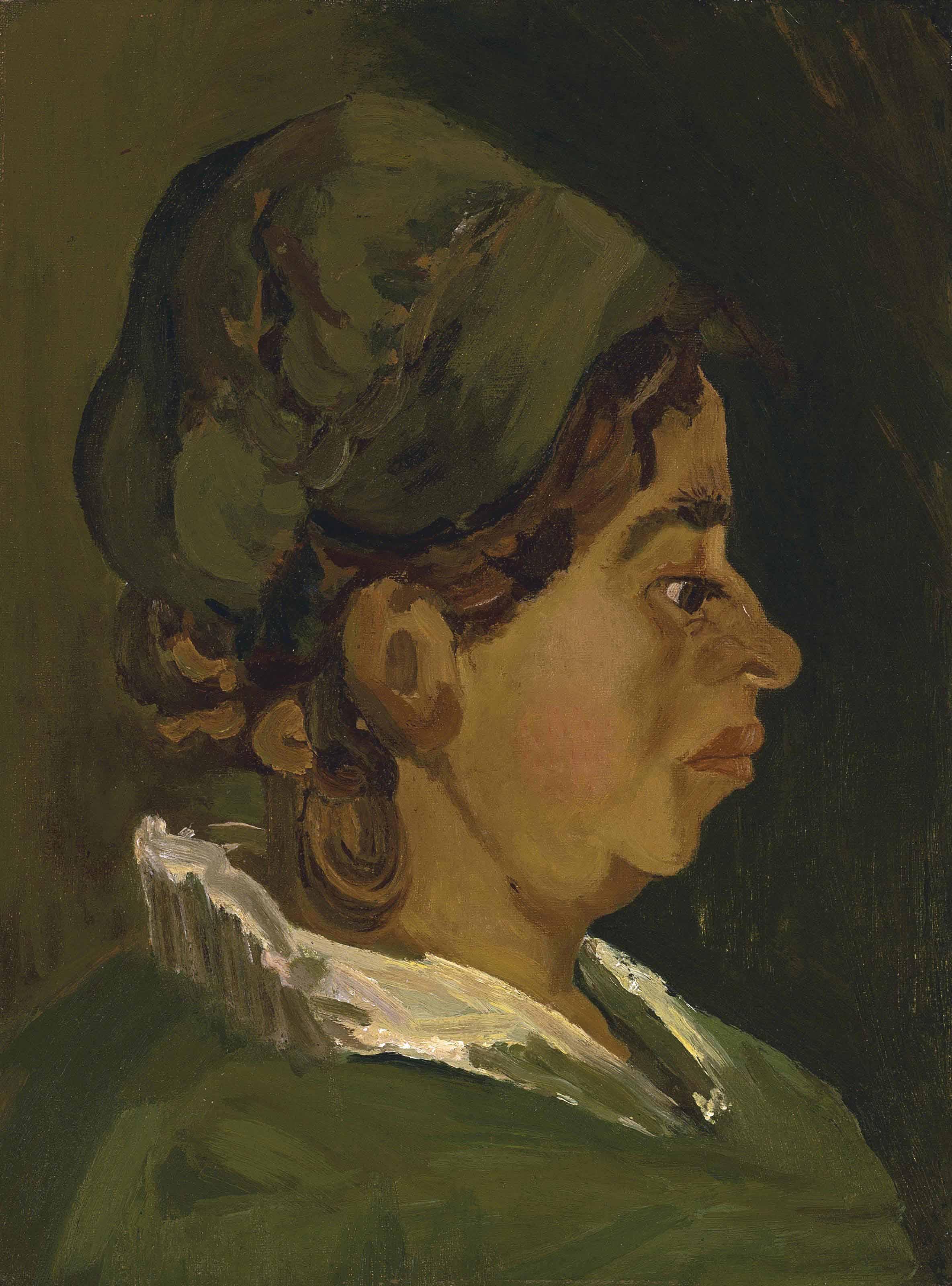Head of a Peasant Woman: Right Profile
