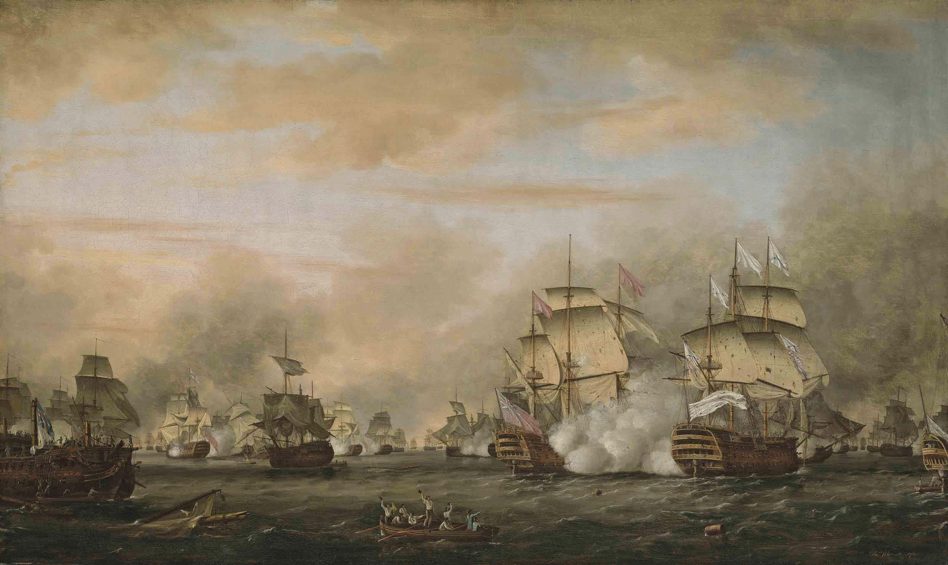The Battle of the Saintes, 9-12 April 1782