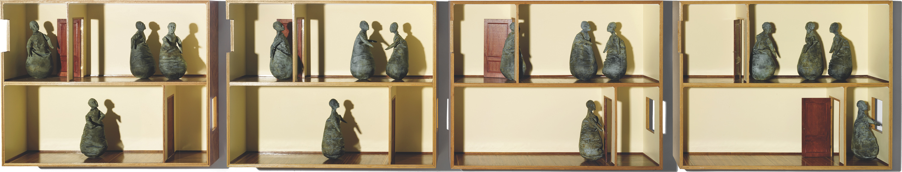 Two Floors, Four Figures