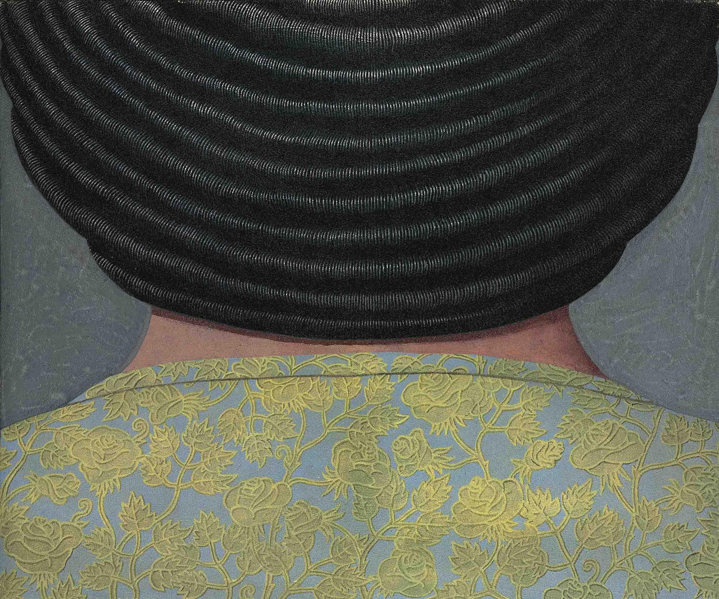 Busto femminile di dorso (Female Bust from the Back)