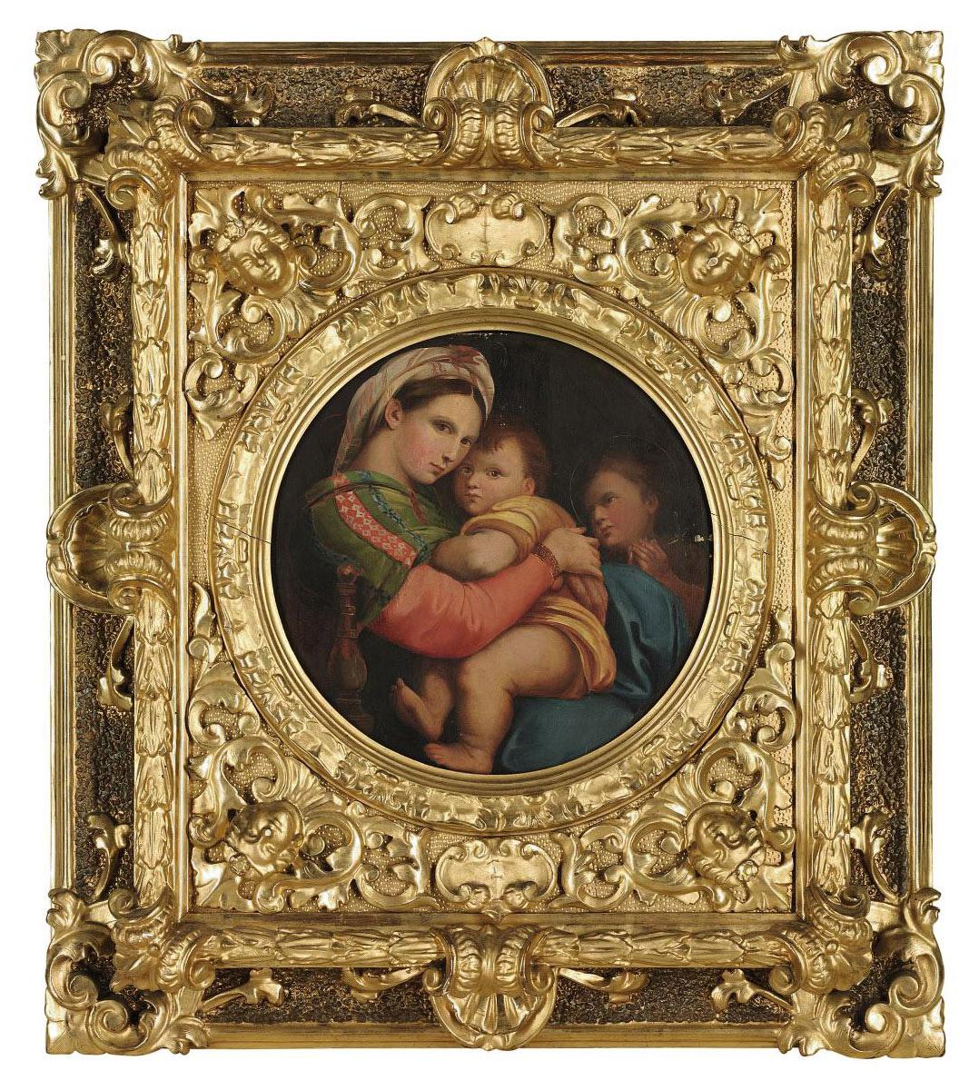 The Madonna della Sedia