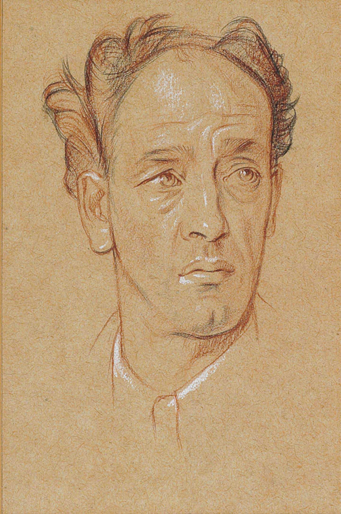 Portrait head of James Stephens (1882-1950)