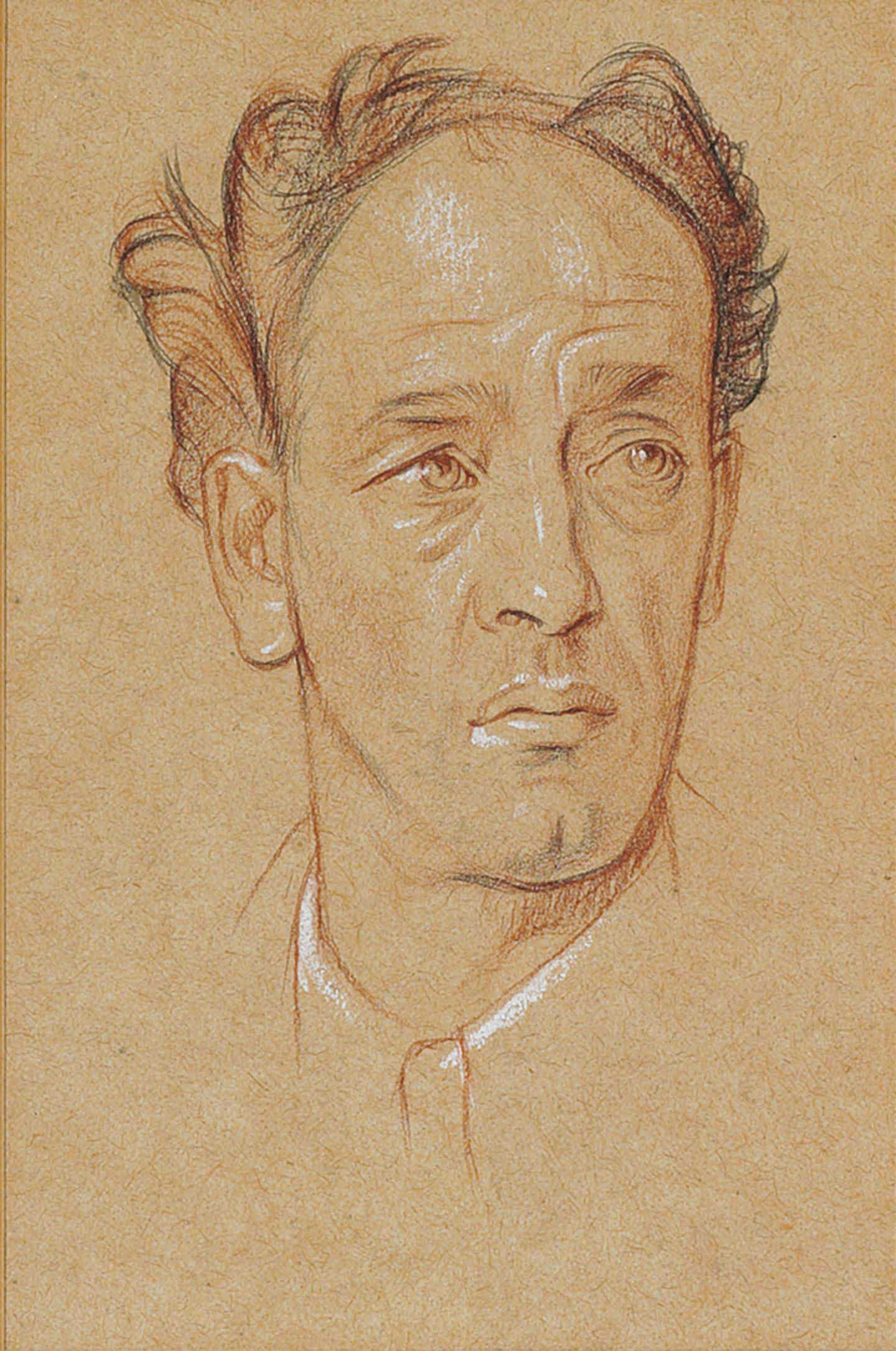 Portrait head of James Stephens (1882-1950)