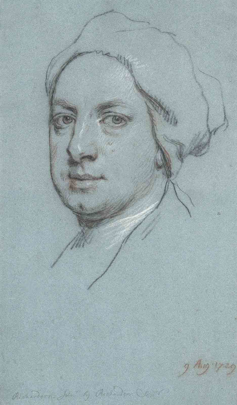 Portrait of Jonathan Richardson, Junior (1694-1771), the artist's son