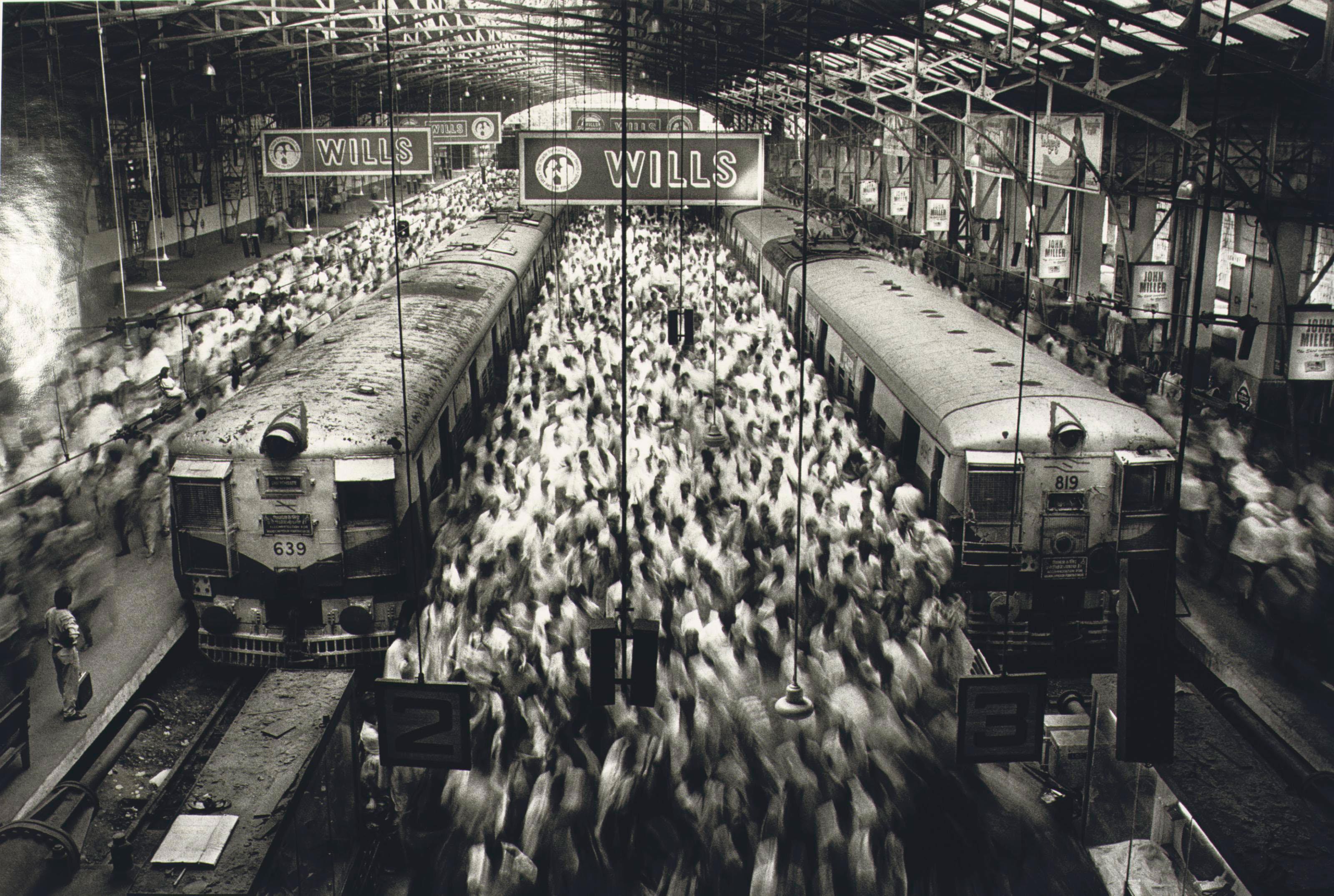 Churchgate Station, Bombay, 1995