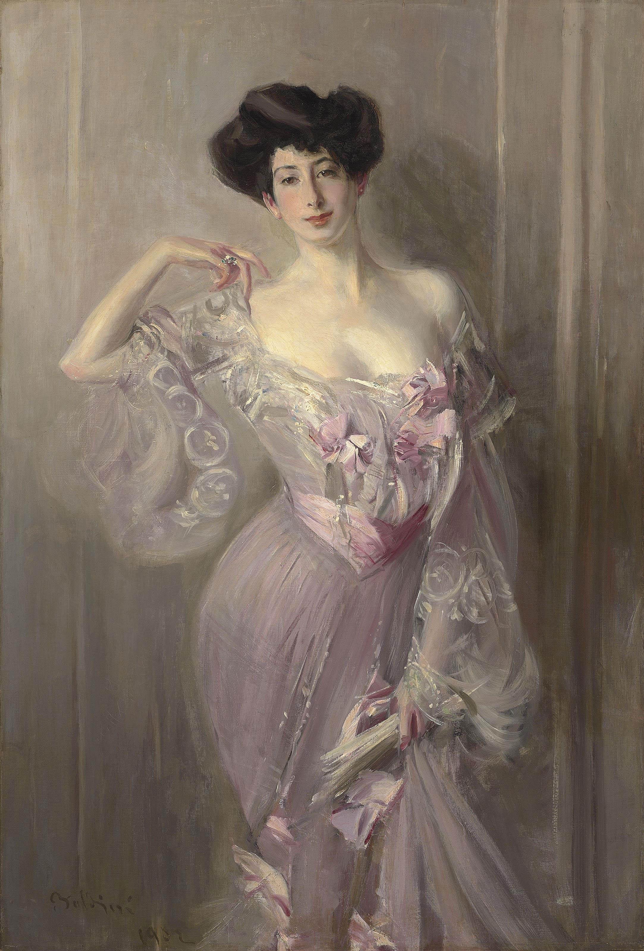 Portrait of Ena Wertheimer