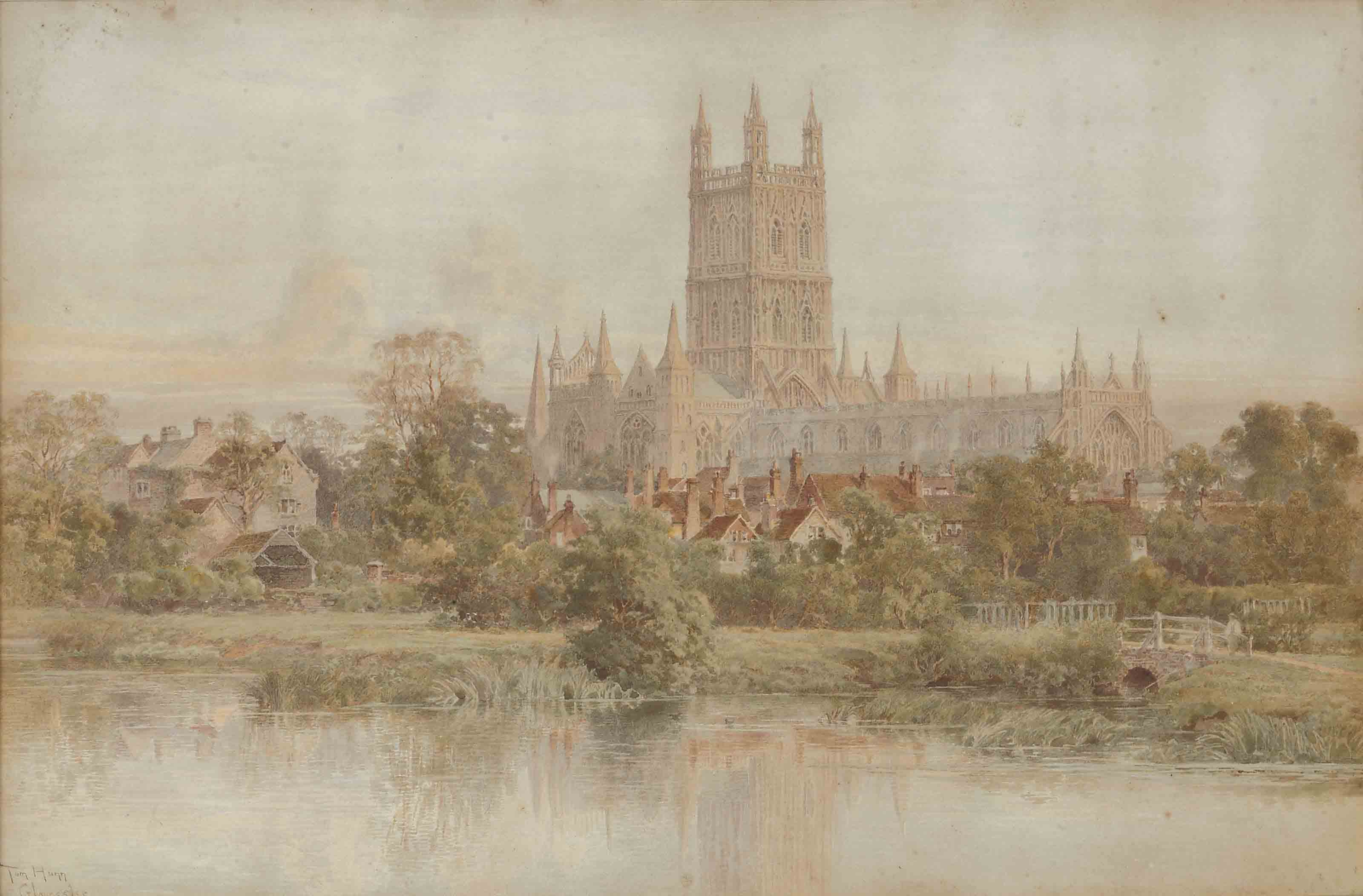 View of Gloucester Cathedral
