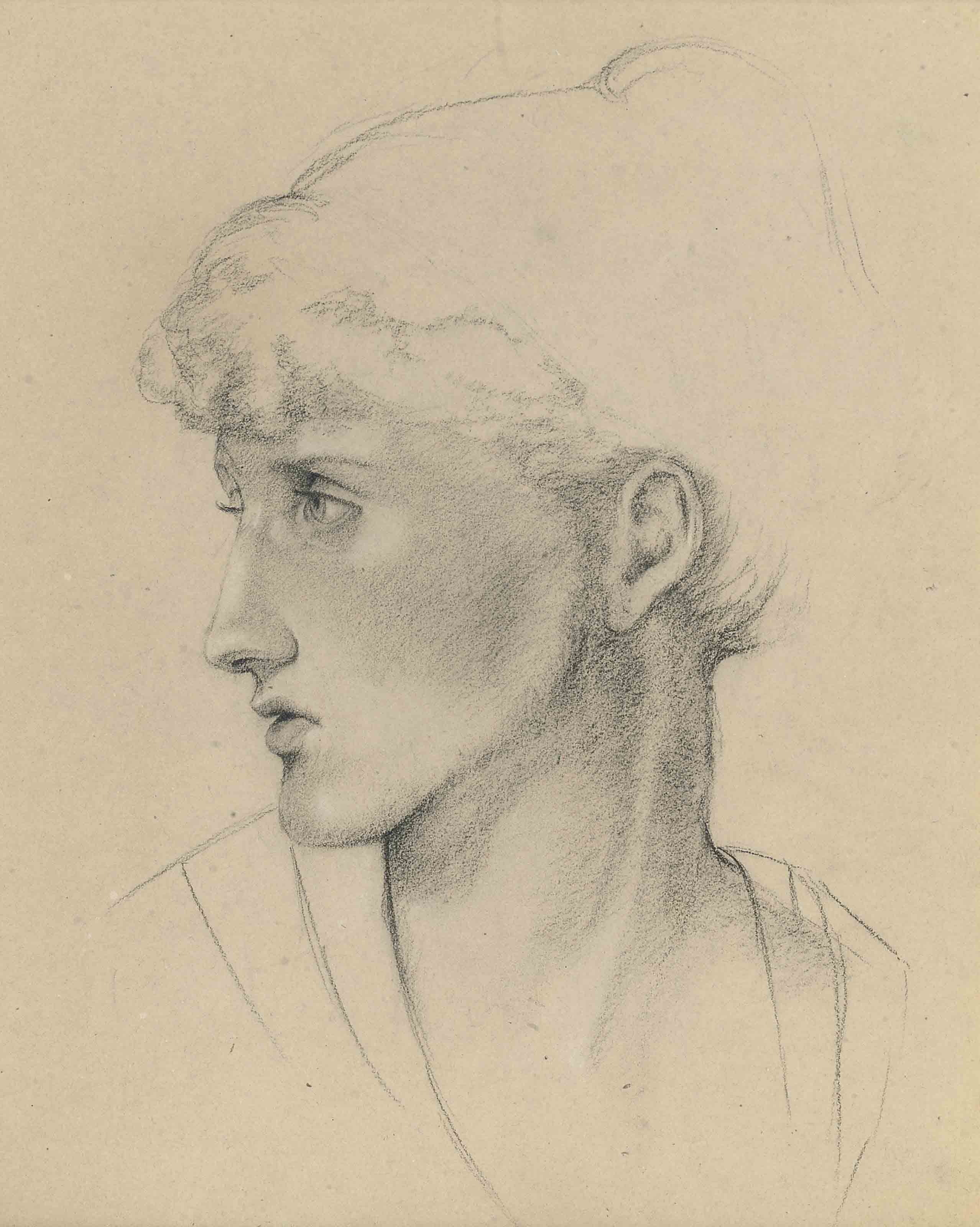 Study of a female head