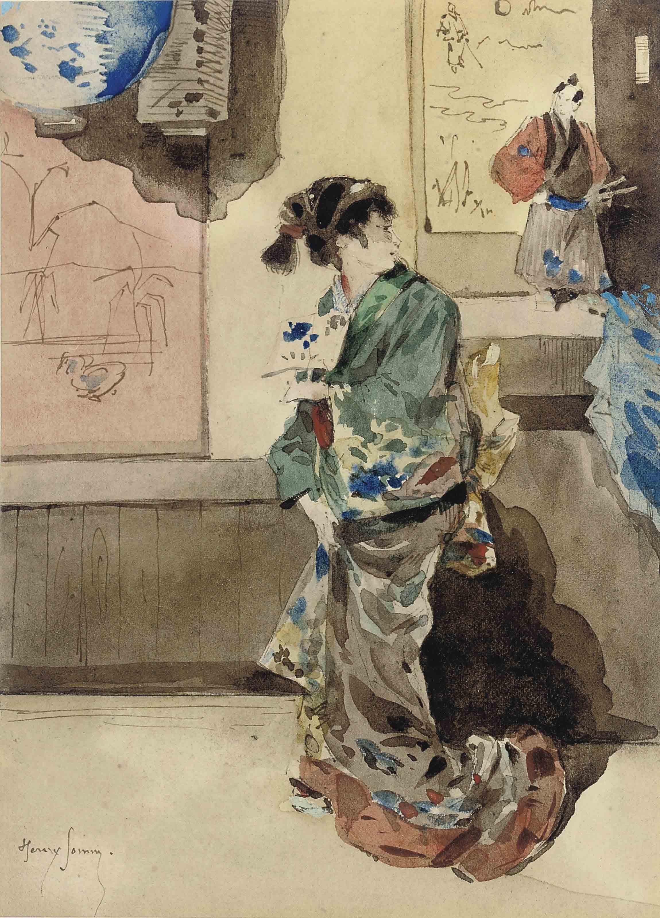'La Japonaise'