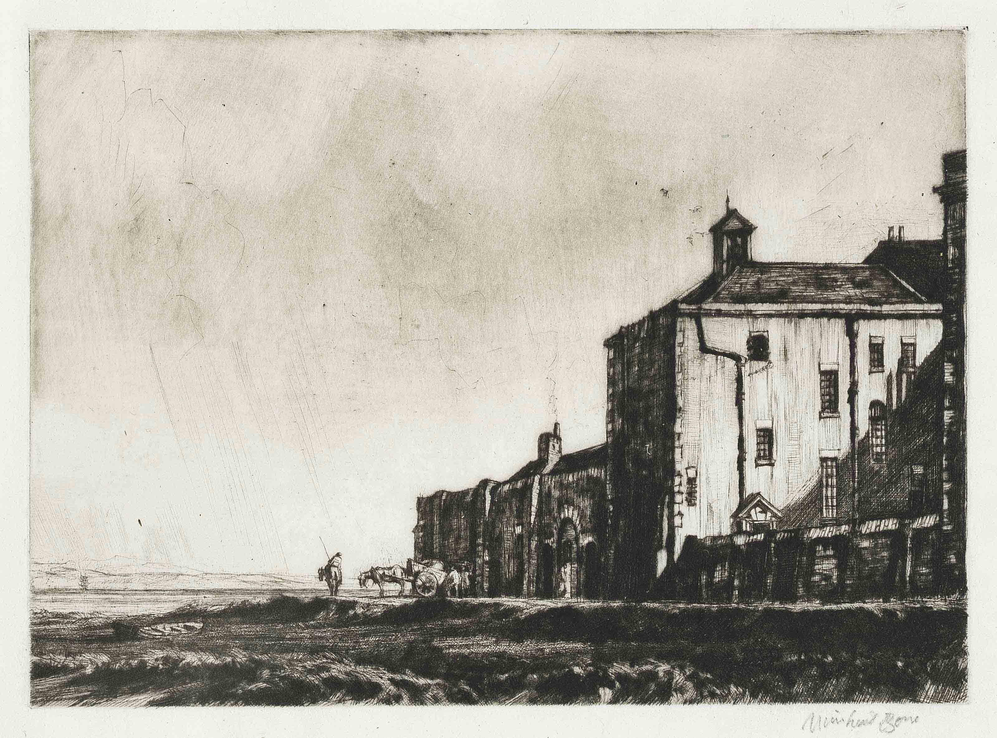 Ayr Prison (Campbell Dodgson 179)