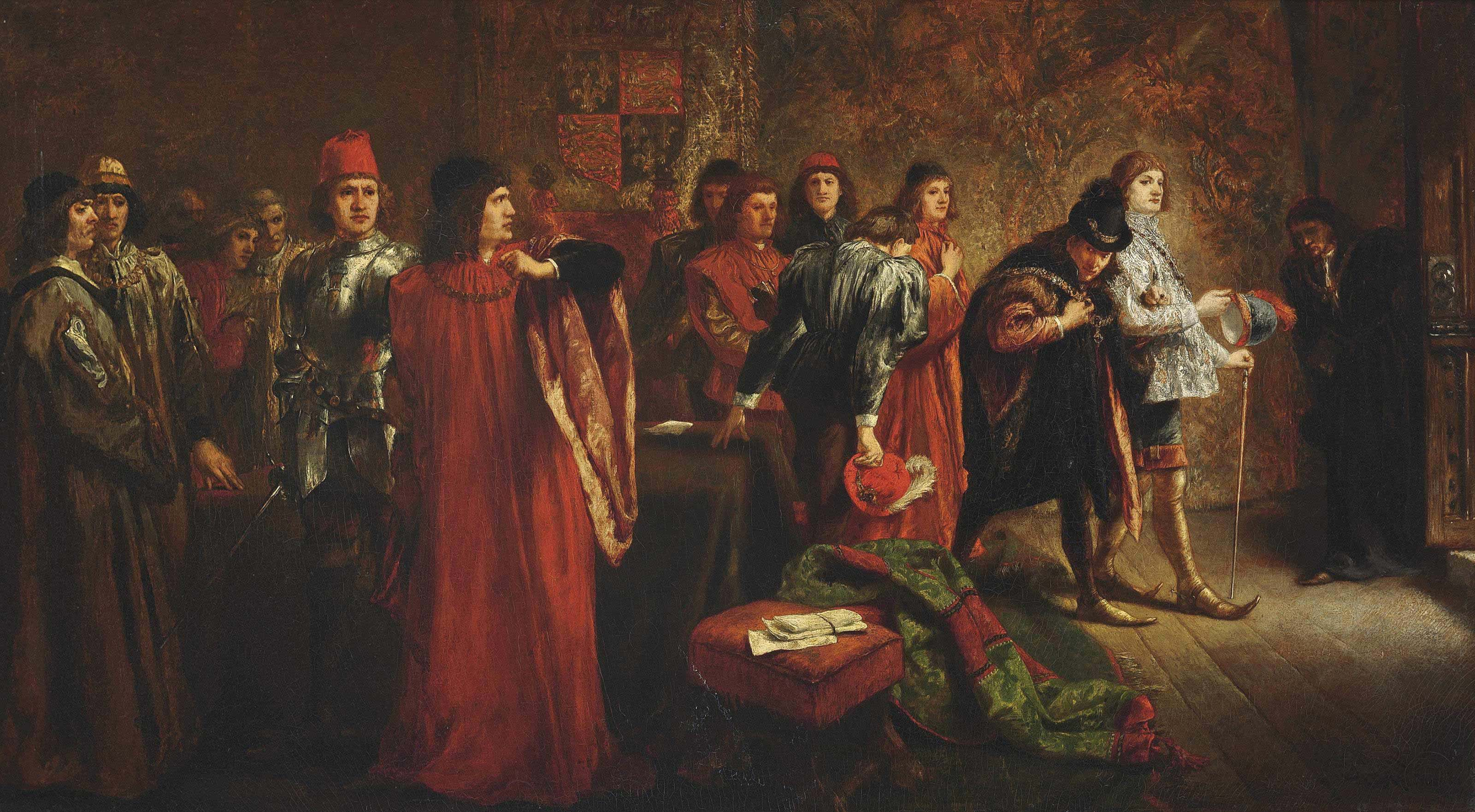 The arrest of Lord Hastings