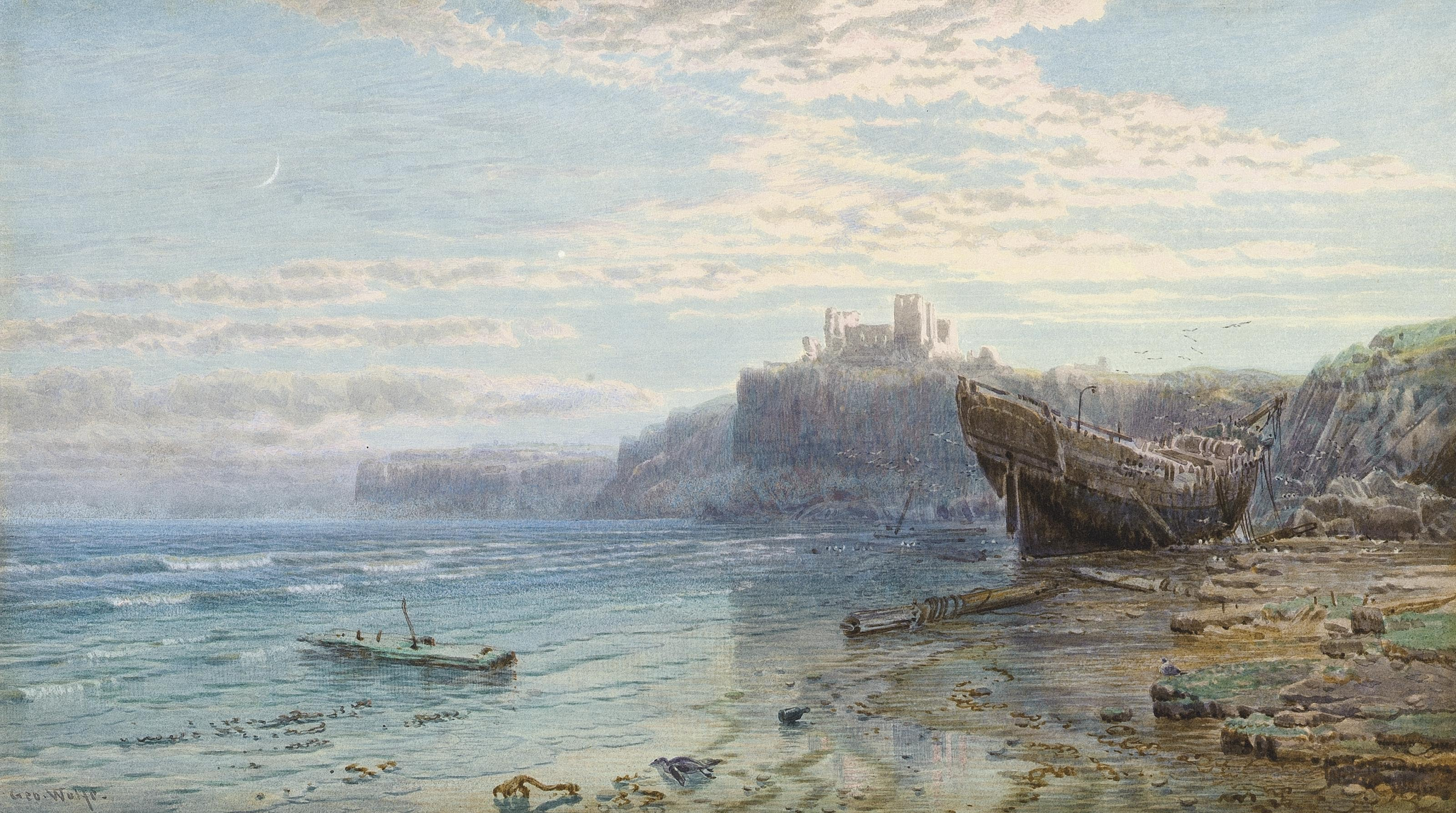 After the storm, Whitby