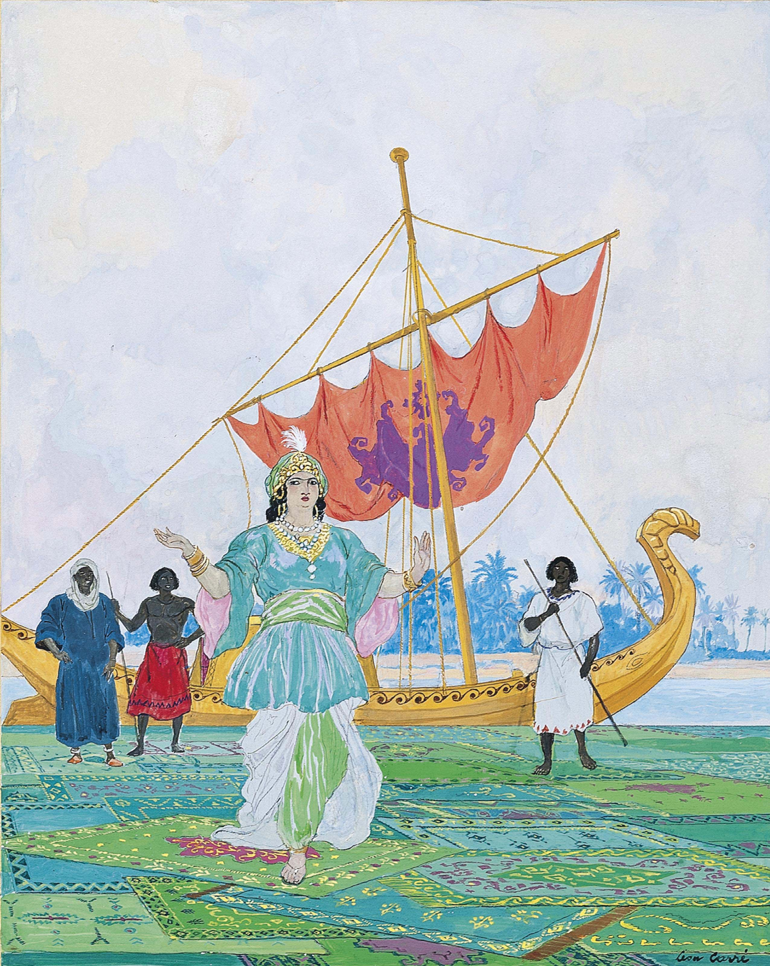The princess walked away from the dahabieh, from 'The Story of Baïbars and the Police Captains'