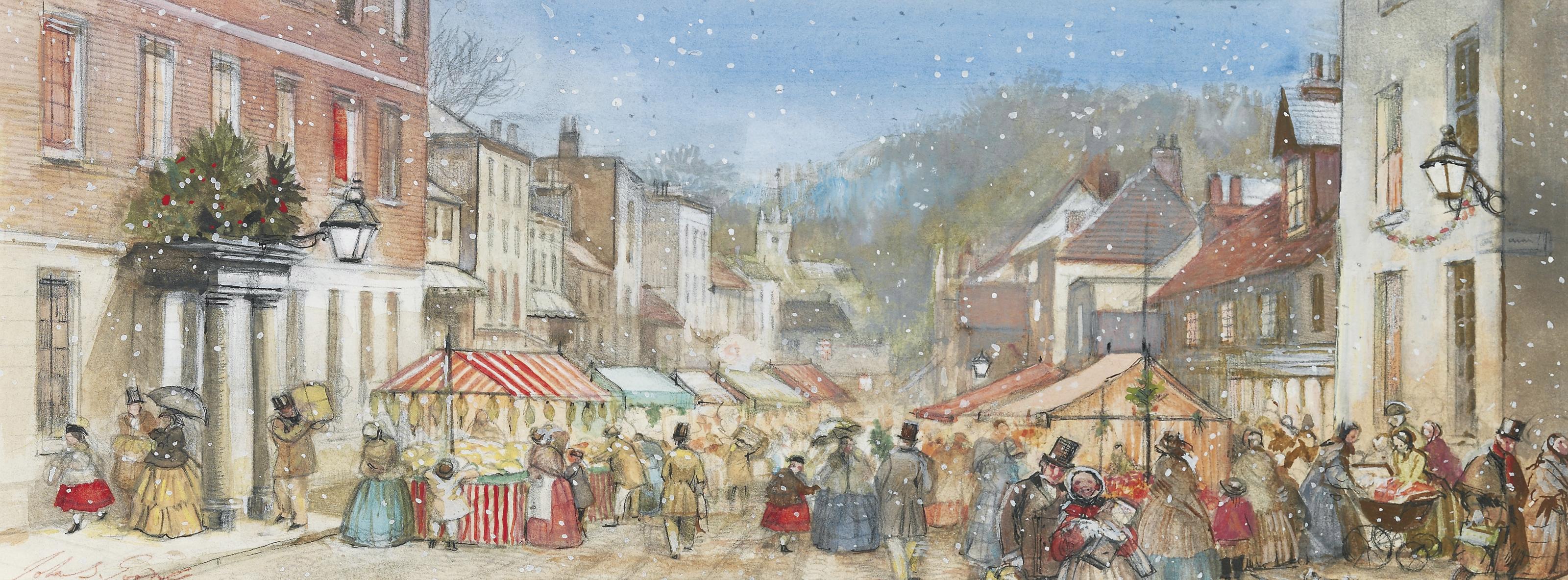 Christmas Shopping on the High Street