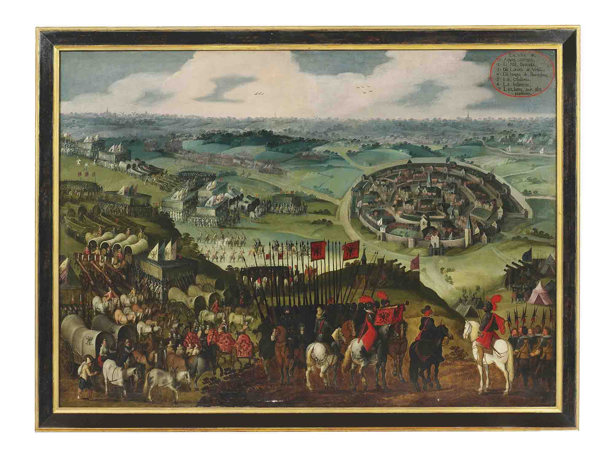 The Siege of Aachen