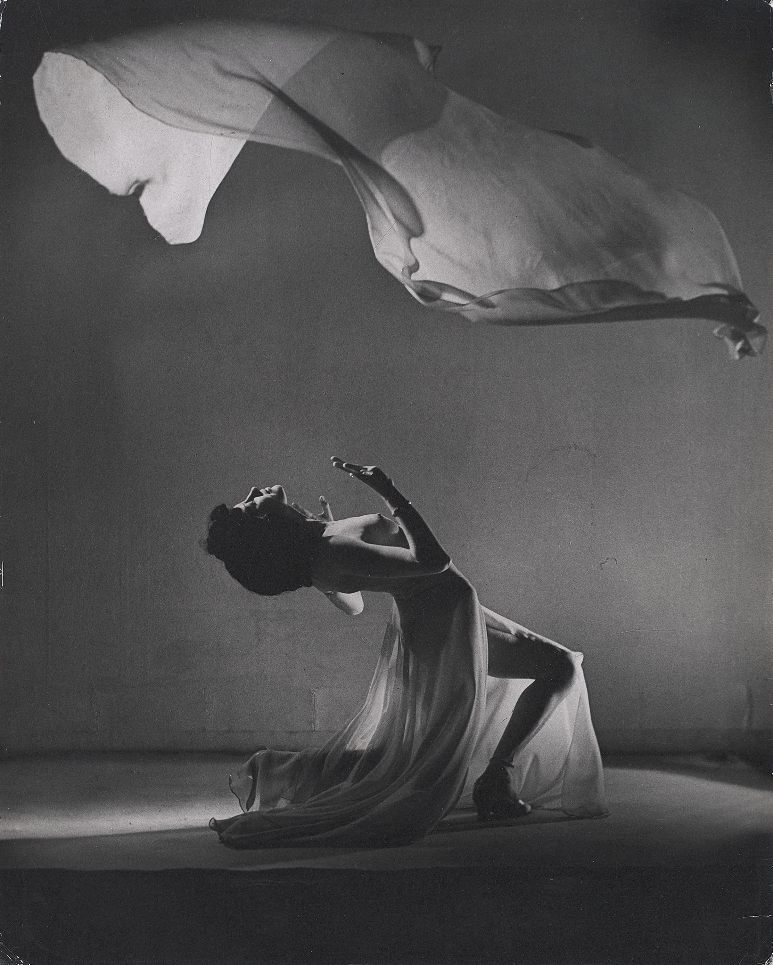 Lydia Wieser in the 'Dance of the Seven Veils', 1954