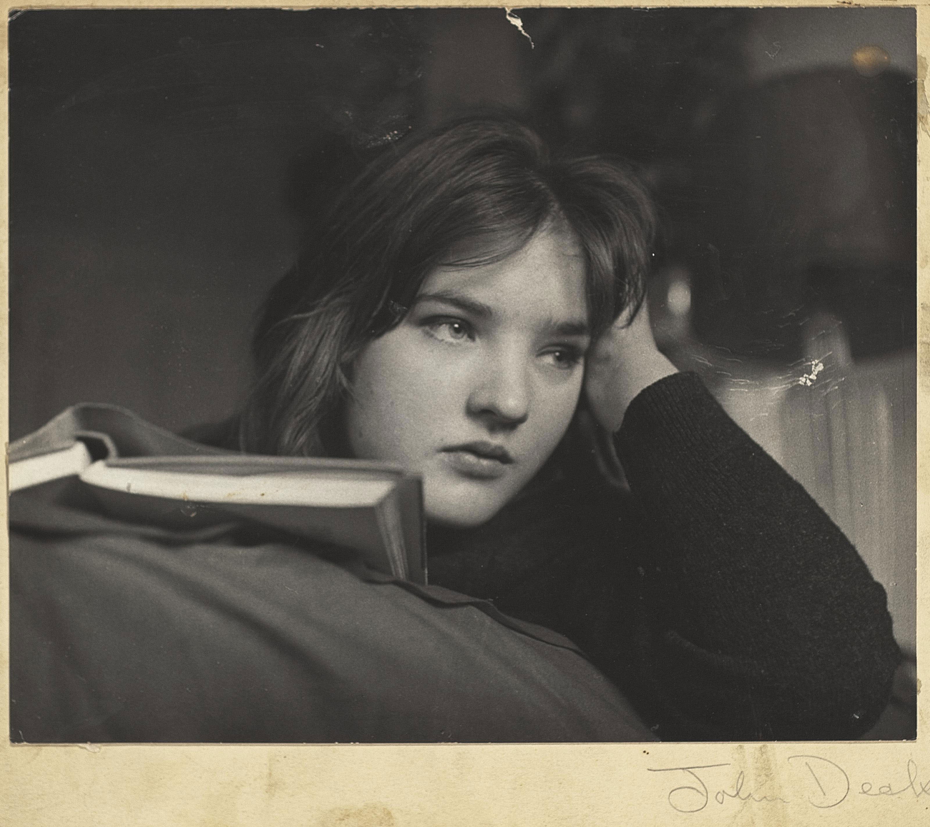 Portrait of Rosie Barker, from the feature 'Bored Teenagers' for About Town magazine, 1962