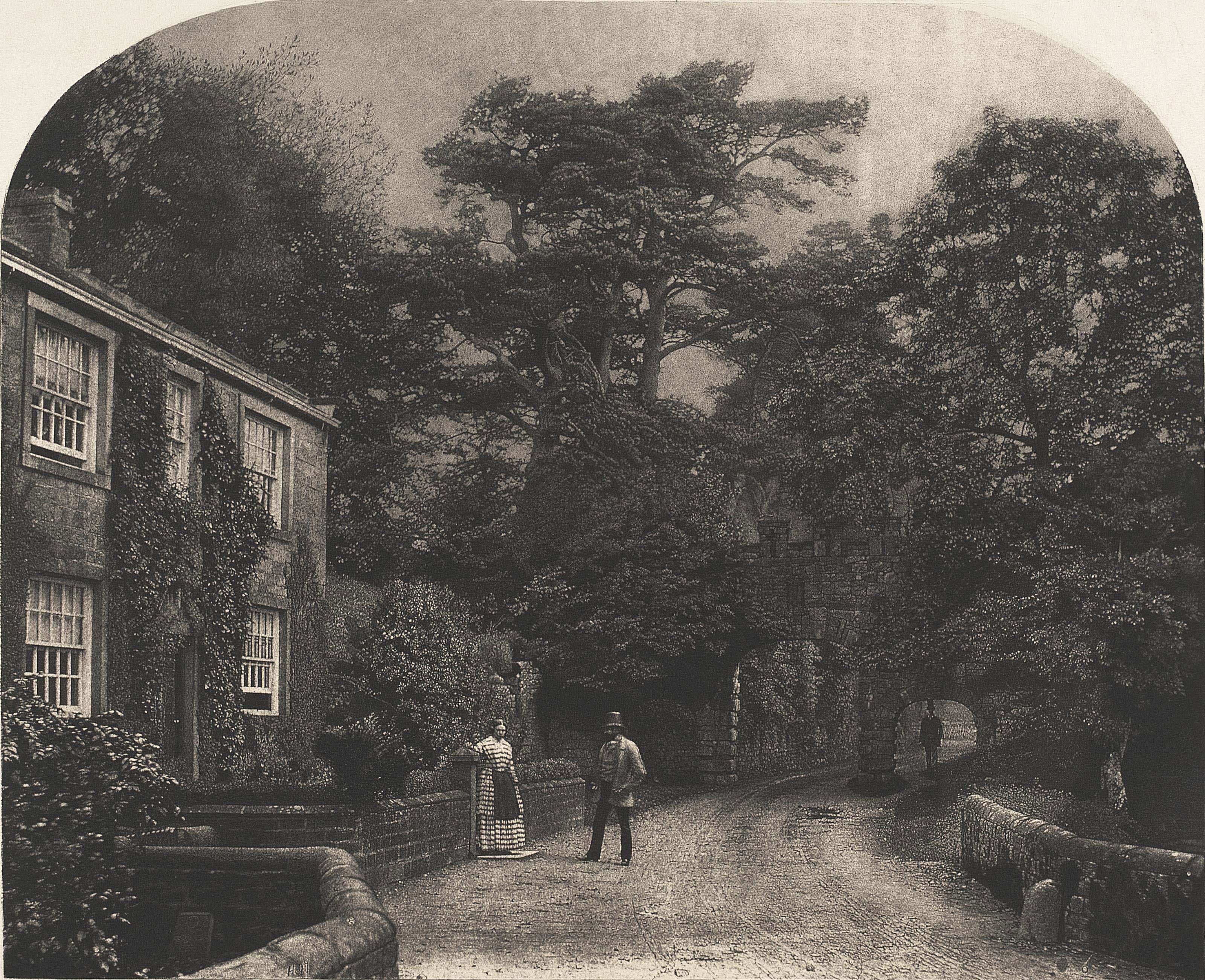 Into the Woods at Bolton Abbey, 1856-1860
