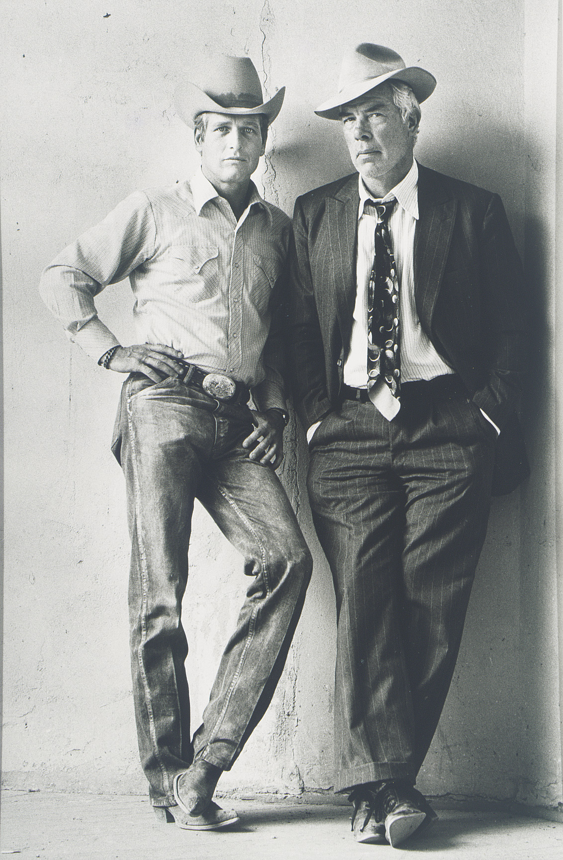 Paul Newman and Lee Marvin, 1972