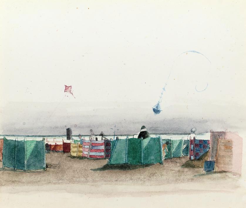Kites at Overstrand
