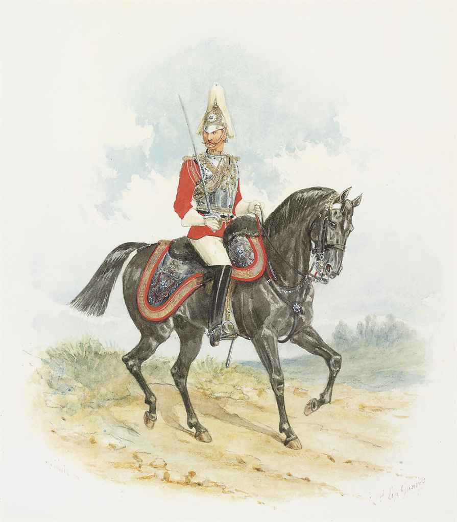 A mounted officer of the 2nd Lifeguards