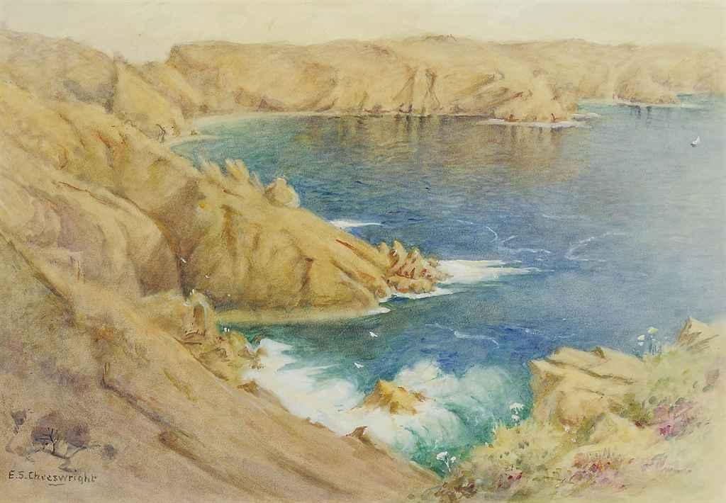 West Coast of Sark (illustrated); and Coastal Caves