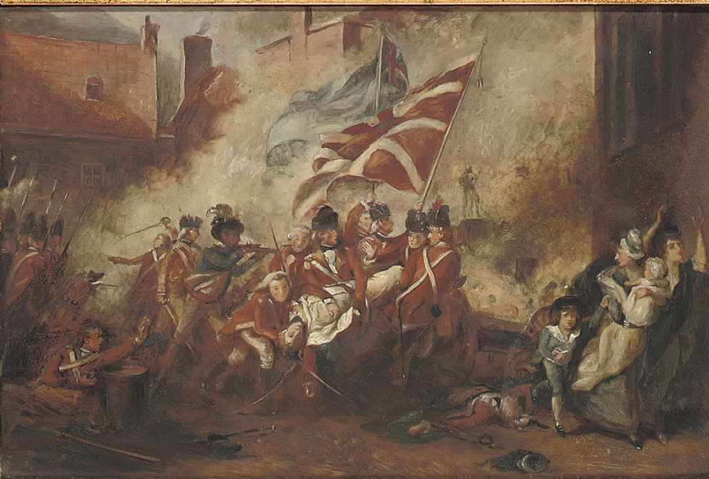 'The Death of Major Pierson, 6th January 1781'