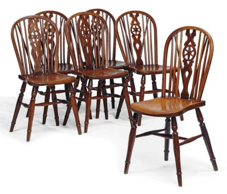 A SET OF SIX EARLY VICTORIAN C