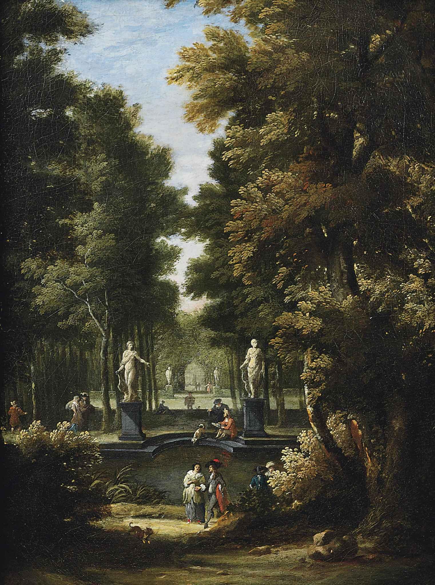 Circle of Isaac de Moucheron (Dutch 1667-1744)
