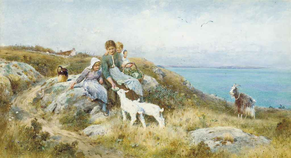The two families, Sark