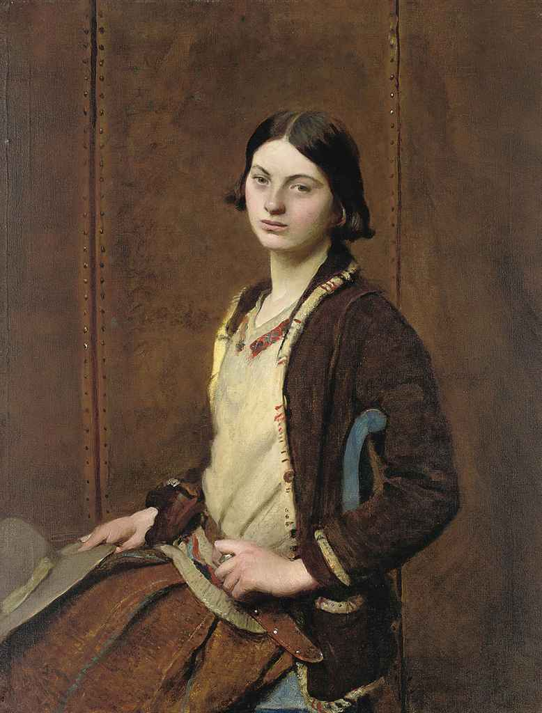 Portrait of Mary Spencer Watson