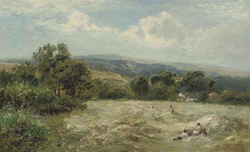 A midday rest, Ingleby