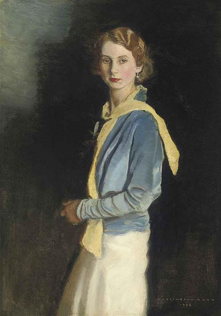 Portrait of Rosalie Lever-Tilletson