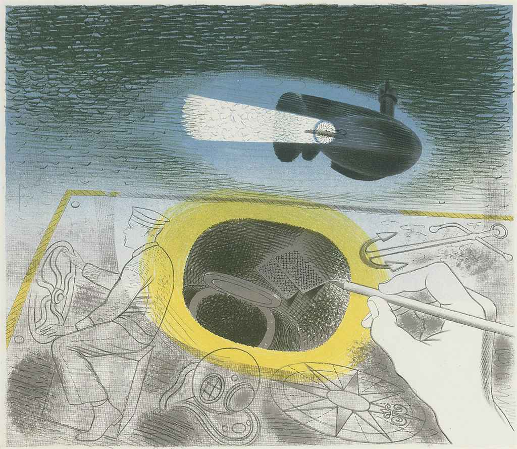 Introductory Lithograph from Submarines